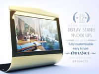 Luxury Display Stands Mock-ups