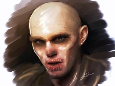 Mad Max Chris Hault Speed Paint