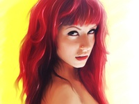 Rouge Suicidegirls Digital Portrait