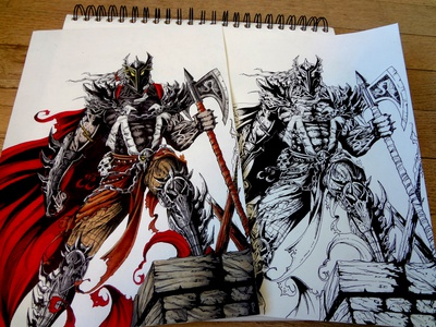 | Spawn : The Dark Age | Drawing |