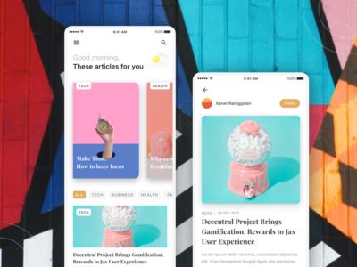 Nea News - Design