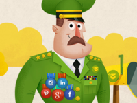 Social&Email Marketing Infographic