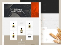 whisky homepage