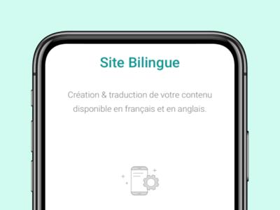 Site bilingue