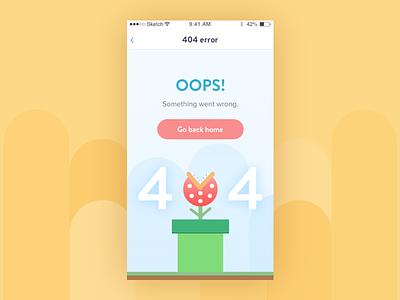 Daily UI challenge #008 — 404 page 404error 404page 404 challenge dailyui