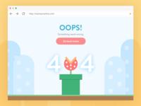 404 error - Desktop