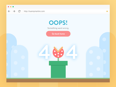 404 error - Desktop supermario desktop error 404