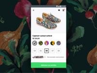 Daily UI challenge #012 — E-Commerce Shop (Single Item)