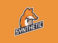 Mascot logo for Synthetic eSports