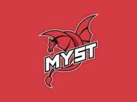 Logo design for RedMyst eSports