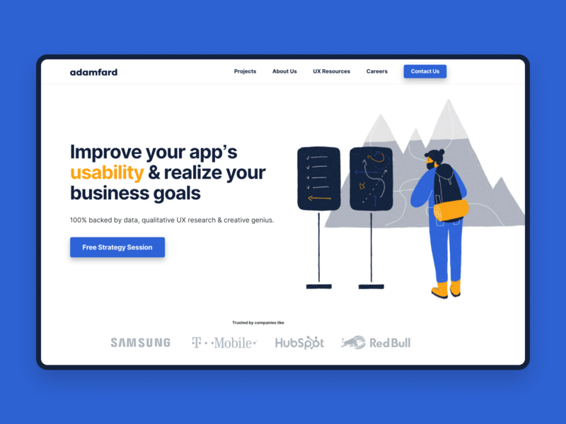 Landing Page - adamfard.com