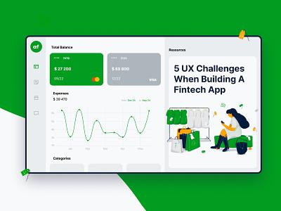 Fintech App product design uxui uxdesign ui ux dashboard design dashboad finance fintech app fintech