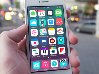 iOS 7 replacement icons