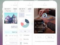 Finance App Rebound