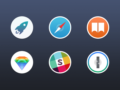 Free Mac Replacement Icons  sketch slack icns safari download free apple macos osx mac icons