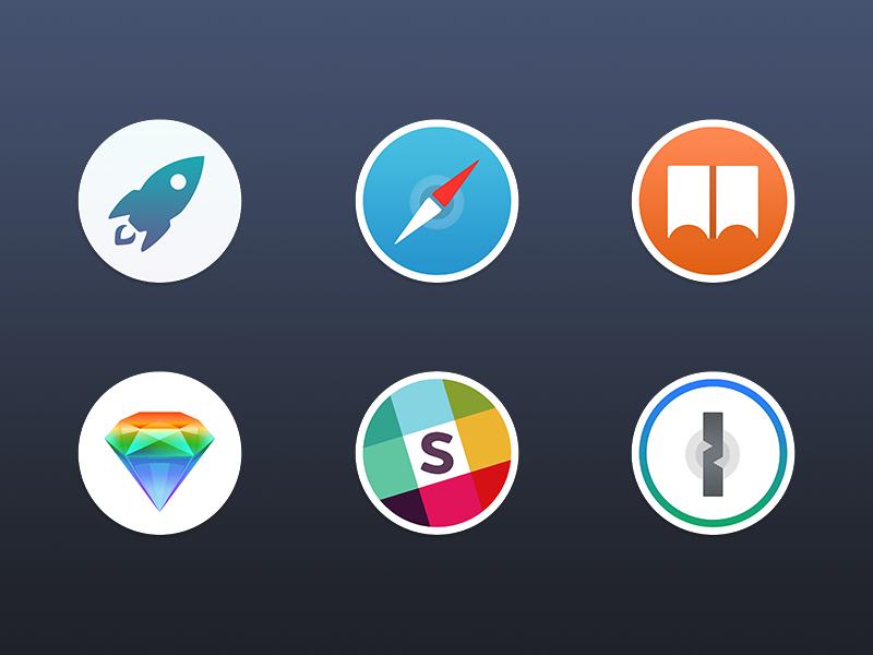 Free Mac Replacement Icons  sketch slack icns safari download free apple macos osx mac icons