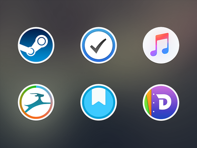 Free Mac Replacement Icons 2.0 icons mac osx macos apple free download steam icns music macbook