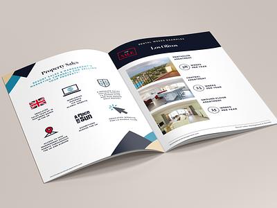 Real Estate Brochure design print brochure layout brochure design brochure real estate brochure real estate branding real estate agent
