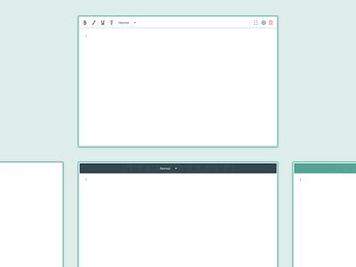 Rich Text Toolbar form builder