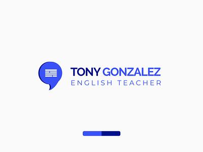 Tony Gonzalez - English Teacher branding webdesign logodesign logo