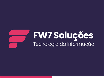 FW7 Soluções - Redesign symbol letters letter branding concept icon site website webdesign uidesign ui  ux ux uiux identity logodesign ui branding