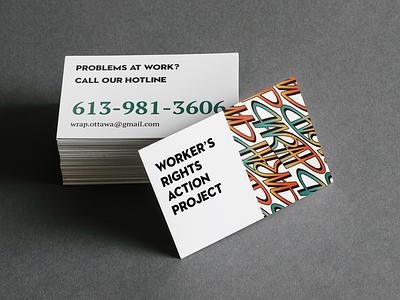 Business Card Design design business card branding vector logo