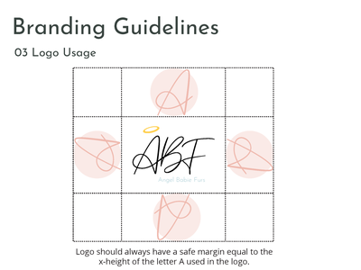 Logo Usage - Branding Guidelines website branding minimal logo design