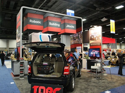TORC Robotics Tradeshow Booth Design