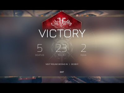 Destiny Victory Screen