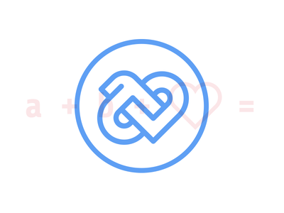 Monogram logo mark letters blue photographer photography logotype logo monogram