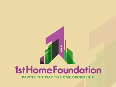 1st home logo design ui vector illustration logo design business logo logo logodesign branding
