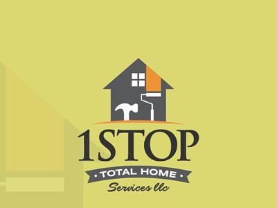1stop Logo design vector ui illustration logo design business logo logodesign logo branding