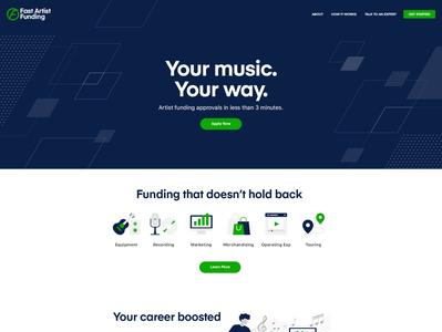Fast Artist Funding Website