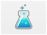 Lab Beaker Logo