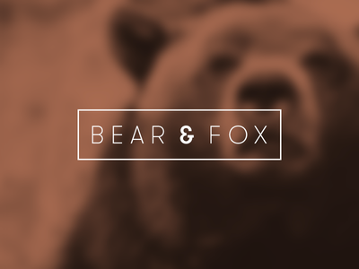 Bearandfox bearandfox bear fox ios app development branding identity company london uk