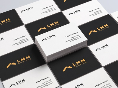 LMM Roofing Business Cards
