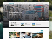 Traveller Blog Landing Page