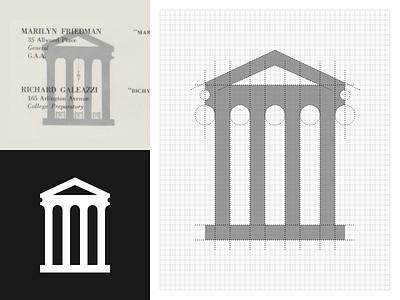 Christopher Columbus Middle School minimal logo design logo icon graphic designer graphic design design branding