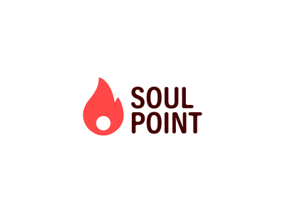 Soul Point   Logo Design vector illustration icon minimal logo design logo graphic designer graphic design design branding