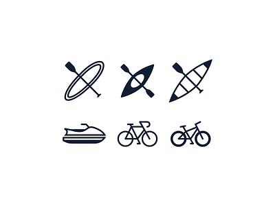 Icon Set logo animation web app ux ui vector illustration icon branding