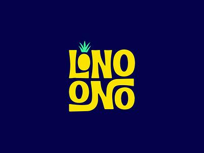 Lono Ono   Logo Design 🍍 illustration vector minimal logo design icon graphic designer graphic design design branding logo