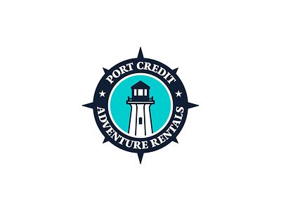 Port Credit Adventure Rentals   Identity Design vector minimal identitydesign identity design idenity logo design icon graphic designer graphic design design logo branding