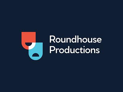 Roundhouse Productions   Identity Design illustration vector minimal logo design icon idenity design graphic designer graphic design logo branding