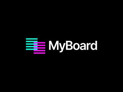 MyBoard   Logo Design illustration vector minimal logo design icon design graphic designer graphic design logo branding