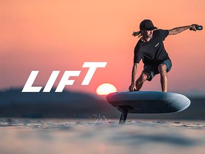 Lift   Logo Design 🌊 idenity vector minimal logo design icon design graphic designer graphic design logo branding