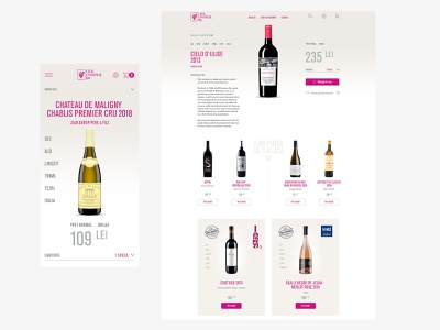 Wine Shop website winery ecommerce wine shop wine bottle wine