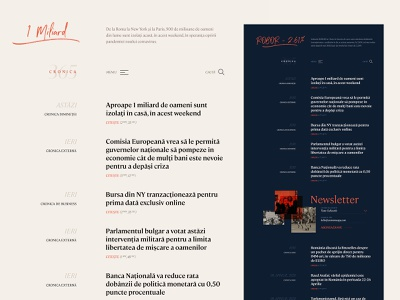 News Aggregator editorial layout typography aggregator news app night mode day mode light mode dark mode