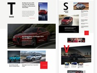 Automotive Magazine – Homepage preview