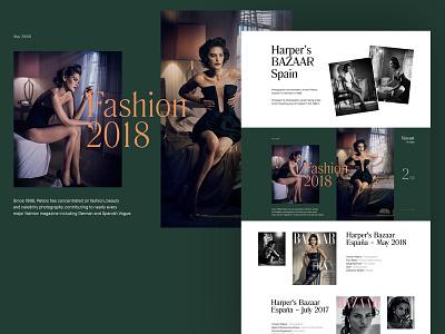 Photographer's Portfolio magazines magazine cover type design typography portfolio photographer