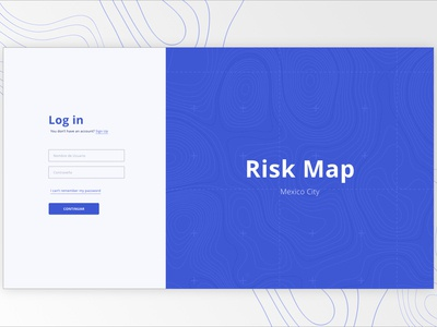 Log In_Risk Map
